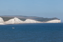 Flat Hill and Baily's Hill   Seven Sisters walk   July 2016-53 (Paul Dykes) Tags: southdowns southdownsway southcoast coast cliffs sea shore coastal englishchannel sussex england uk seaside sun sunnyday chalk downs hills countryside