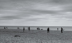 ALNMOUTH BEACH, NORTHUMBERLAND_DSC_0284_LR_2.0 (Roger Perriss) Tags: alnmouth beach d750 sand blackwhite