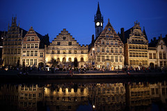Quai aux Herbes, Gent, Belgium. () Tags: beautiful night canon river frank relax pier friend photographer belgium ngc nightview lys ghent gent  gand 6d riverlys  leicaelmaritr24mmf28 quaiauxherbes