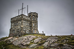Signal Hill HDR (gorbould) Tags: 2016 newfoundland signalhill stjohns tower cabottower hdr outdoor