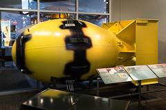 DSCF1560.jpg (mikepirnat) Tags: bradburysciencemuseum fatman losalamos newmexico atomicbomb bomb history model museum museums replica travel vacation