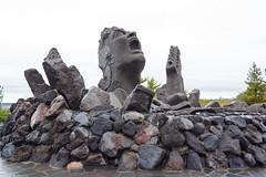 Weird Statue (JohnShaftFr) Tags: japan kagoshima sakurajima