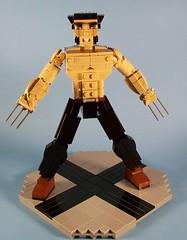 Wolverine (Midi-Mood Scale) 1 (M<0><0>DSWIM) Tags: lego wolverine logan brickbuilt figure superhero