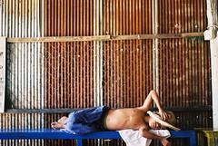 Siesta #3 (Gonzalo Campos Garrido) Tags: cambodia camboye camboya travel viaje 35mm film vida vderano pse ong phnom penh siesta fujifilm superia iso200 superia200