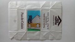Srie Pas de Calais - Terrils 01 (periglycophile) Tags: priglycophilie sucrology sugar packet sucre morceaux cube france beghin say pas de calais