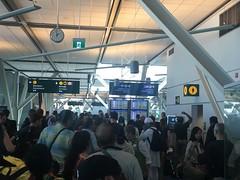 Immigration US YVR (Bertrand Duperrin) Tags: b777 b777200 businessclass klm