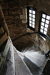 Campbell Stairs (Evil Cheese Scientist) Tags: castle campbell dollar scotland july 2016