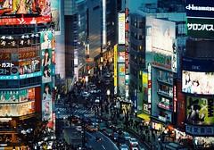 Scenes in Tokyo: Shibuya (Jon-F, themachine) Tags: jonfu 2016 olympus omd em5markii em5ii  mirrorless mirrorlesscamera microfourthirds micro43 m43 mft ft     snapseed japan  nihon nippon   japn  japo xapn asia  asian fareastorient oriental tokyo kanto   shibuya  evening  cityscape cityscapes city cities urban