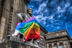 Liverpool Pride (mobilevirgin) Tags: liverpool england unitedkingdom pride walker dxoone hdr gb