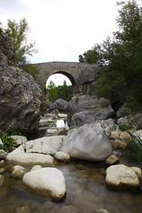 Ponte Sul Trigno - Bridge Over Trigno (Criss79) Tags: canon canon5dmarkii italia italy molise bagnolideltrigno fiume river ponte bridge panoramafotografico panorama
