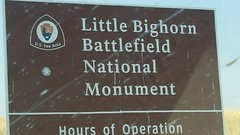 Little Big Horn NM entry sign (jb10okie) Tags: 2016 vacation trip usa nps npssigns nationalmonuments littlebighornnationalmonument montana