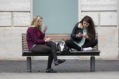 // (dagomir.oniwenko1) Tags: street style mode fashion girls female blonde smoking flickr sitting woman women candid canon canoneos60d color sigma lincoln lincolnshire england