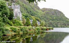 Kylemore Abbey (PapaPiper) Tags: ireland connemara countygalway kylemoreabbey lake landscape waterscape