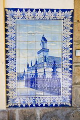 azulejos @ Granja Train Station (Vila Nova de Gaia, Portugal) (Gail at Large + Image Legacy) Tags: 2016 estaoferroviriadegranja granja portugal azulejos gailatlargecom trainstation