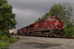 36Q @ Blandon, PA (Dan A. Davis) Tags: ns norfolksouthern freighttrain locomotive blandon pa pennsylvania railroadphotography cp canadianpacific es44ac ac44cw sd70 36q railroad
