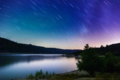 Trailing behind. (mnlphotography) Tags: milkyway canon 7dmarkii 7dmark2 lake stars tokinaaf1224mmf4 tokina1224mm
