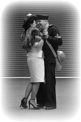 Romantic Dance (masimage) Tags: hootonpark hooton park 1940s weekend 2016 wartime ww2 wwii soldier army navy raf usarmy jive dance thevictorygirls victorygirls victory girls belladonnabrigade belldonna brigade singers ensa vintage britain 40s reenactment reenactor