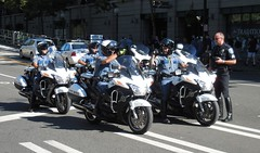 WA State Patrol after Mariner Game (Jeffxx) Tags: seattle mariners safeco police royal brougham street motorcycle game 2016 august field state patrol washington
