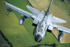 Ok.. so only one tornado, but how many cows ?? ;-) (xnir) Tags: tornado aviation aircraft air2air military nir nirbenyosef xnir