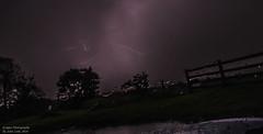 lightening 5 (johnhontai) Tags: thunderstorm pendle lancashire burnley pinksky lighteningstrike storm lightening d750 nikon kempophotography