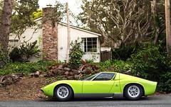 Miura (Alex Penfold) Tags: lamborghini miura green supercars classic classics super car cars autos alex penfold carmel usa america 2016 carweek