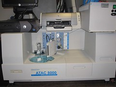 Clinical Data Elan ATAC 8000 2 (Kitmondo.com) Tags: white colour industry work hospital photo lab industrial factory technology tech image working machine bio science equipment medical machinery health technical laboratory processing labour kit process clinic med healthcare clinical scientific biomedical labequipment analytics bioscience laboratoryequipment analytical
