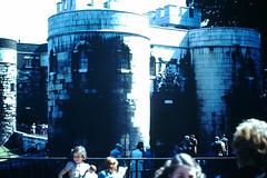 1949- Tower Gate- London (foundslides) Tags: london england europe vacation foundslides found slide slides kodachrome transparency uk britain snap snaps holiday 1953 1950s vintage retro irma rudd louise john johnrudd irmalouiserudd irmarudd britishisles greatbritain britannia travel international travelling pictures tourism 50s 1949 1940s 40s irmalouisecarter tourist redborder oldphotos analog slidecollection