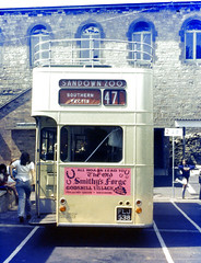 Slide 008-99 (Steve Guess) Tags: uk england bus k bristol island open top southern vectis ventnor topless gb isle wight