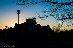 Sunset @ Bois du Cazier (Primitif-Atom) Tags: city sunset architecture belgium belgique lovely colliery charleroi