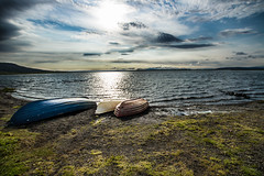 Morning light (alessandro.iaselli) Tags: morning lake nature landscape boat iceland canon7d