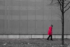 redjacket (chris4all) Tags: street urban blackandwhite december hannover chris4all