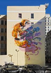 Eye of the Tiger (walking along) Tags: sf sanfrancisco urban g11 nychos 2013