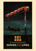 DDL 1930s poster (Proplinerman) Tags: poster 1930s aircraft douglas airliner propliner ddl danishairlines detdanskeluftfartselskab