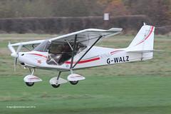 G-WALZ - 2012 build Bestoff Skyranger Nynja, arriving on Runway 26R at Barton (egcc) Tags: manchester flyer dragon thomas barton microlight cityairport skyranger bestoff nynja flyuk egcb rotax912 gwalz bmaahb619 airbornmay2012