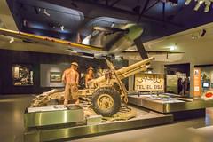 Australian War Memorial (vk2gwk - Henk T) Tags: museum canon memorial war artillery canberra elalamein teleleisa