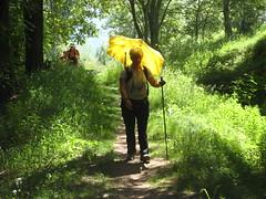 Marina e il suo ombrello giallo