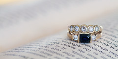 practice shots (goodgirlbetty) Tags: wedding diamonds canon words marriage 100mm ring 7d l series sapphire