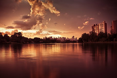 Sunset (Lago Igap) (marcelo.guerra.fotos) Tags: sunset lake water clouds londrina igaplake canonefs18135mmf3556is wowl2 wowl3 wowl1