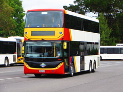 New Scania double-decker 3401 (RS 1990) Tags: bus january adelaide thursday southaustralia 15th doubledecker scania 2015 3401 southlink t840