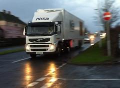 BX11 BHU (Cammies Transport Photography) Tags: road truck volvo lorry kings fm supermarkets nisa dhl rosyth bhu bx11 bx11bhu