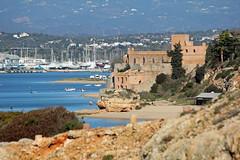 Le chteau de Ferragudo (hans pohl) Tags: portugal buildings landscapes beaches algarve monuments paysages plages btiments