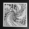 Ribbon Zentangle