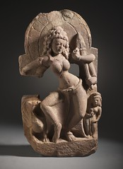 The Hindu Goddess Kaumari LACMA M.82.42.3 (1 of 6) (Fæ) Tags: wikimediacommons kaumari imagesfromlacmauploadedbyfæ sculpturesfromindiainthelosangelescountymuseumofart