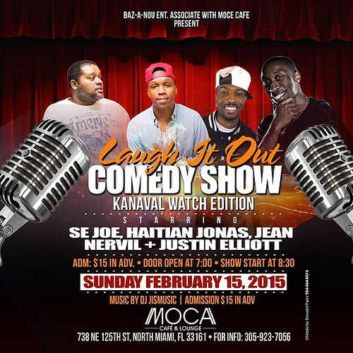 #laughitout #haitians #funny #goodtimes #mocacafe #whoy #comedyshow
