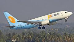 Jet Konnect B737-700 VT-SIZ (Aiel) Tags: bangalore boeing b737 jetairways bengaluru b737700 canon100400lis canon60d vtsiz jetkonnect