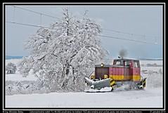 Snežný pluh na TEŽ - ke