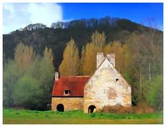 Watercolors | Upland Cottage (e r j k . a m e r j k a) Tags: stone barn rural watercolor farm dordogne explore périgord watercolors 2014 aquitaine bellefeuille farafield erjkprunczyk
