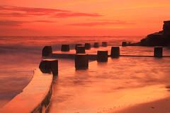 Bathed in Light (Darren Schiller) Tags: ocean seascape beach sunrise sydney australia baths coogee