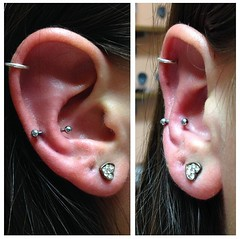 Snug piercing by Taylor Bell