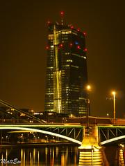 FFMMainHDR (mat.mattew07) Tags: skyline hessen frankfurt main stadt brcke gebude ffm europischezentralbank rheinmaingebiet